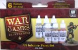 VAL70160 WWII Wargames - US Paint Set